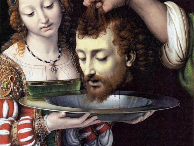 onthoofding Johannes de doper